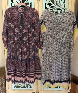 dress and cover-up/ night gown