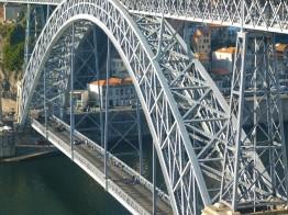 Bridge from Porto to Gaia