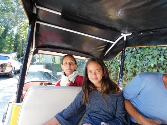 First Tuk Tuk Ride