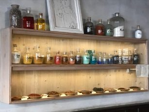 The Artist's Alchemy Shelf