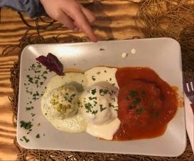 Fish, Potato, Meat