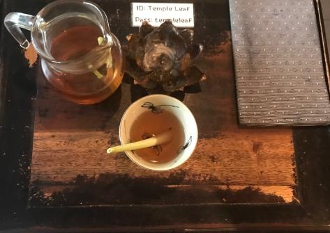 Lemongrass Tea at Temple Leaf Spa